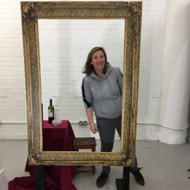 portrait of the artist at spike island