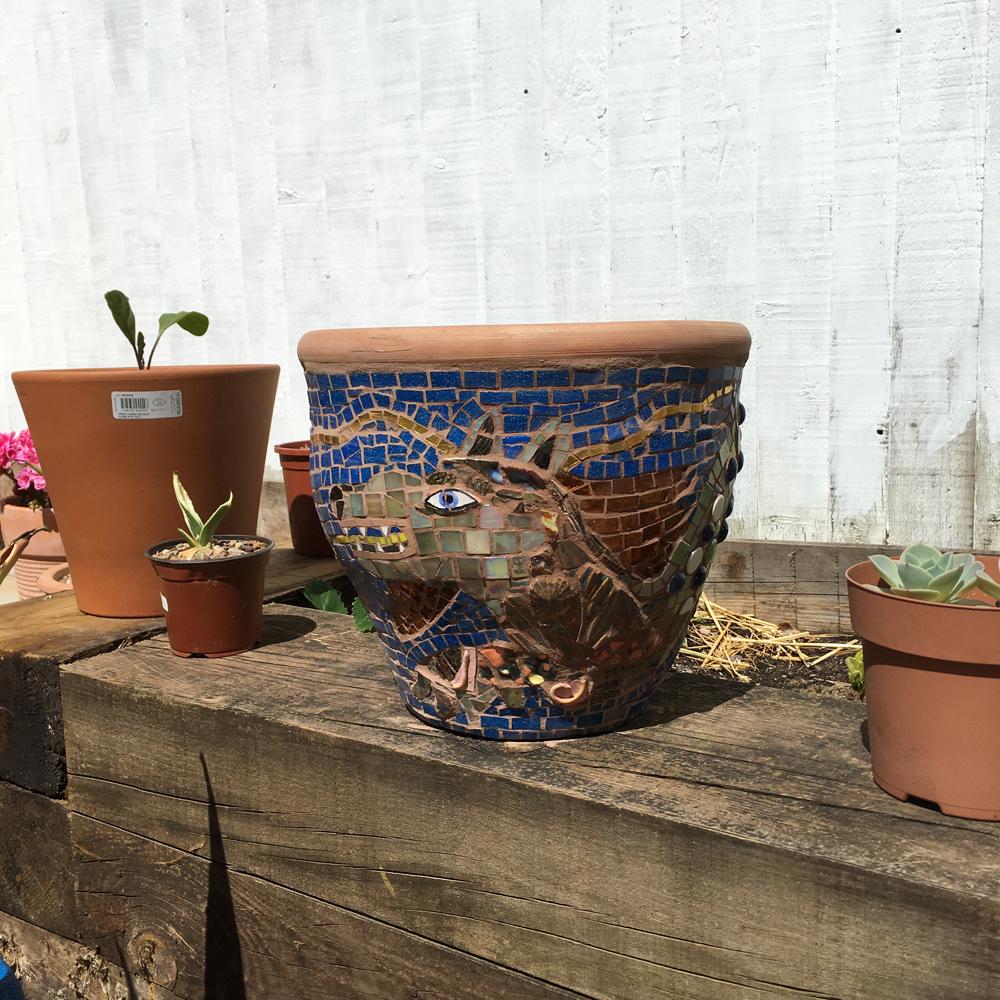 seadragon small pot commission